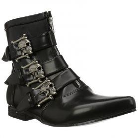 Heren schoen met skuls