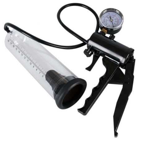 Penispomp met drukmeter