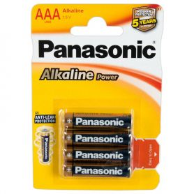 Batterijen panasonic alkaline AAA 1.5 V
