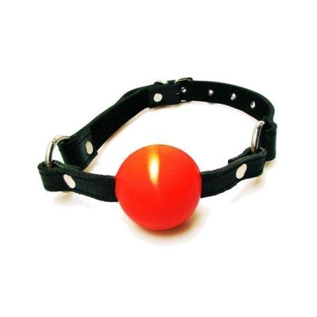 Ballgag met rode bal