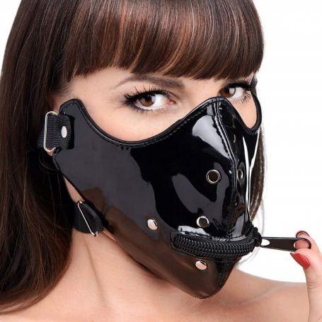 Masker met mondrits