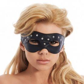 Leren masker open ogen