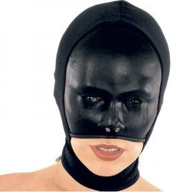 Leren masker voorgevormd