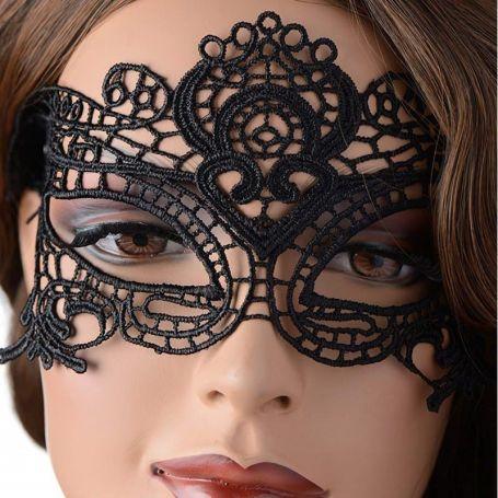 Geborduurd masker Vivien
