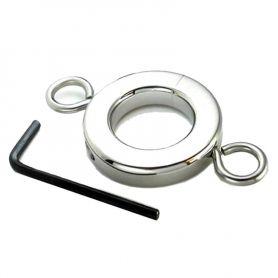 Stalen ballstretcher met ringen 226 g