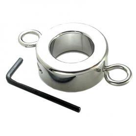 Stalen ballstretcher met ringen 453 g