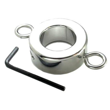 Stalen ballstretcher met ringen 623 g