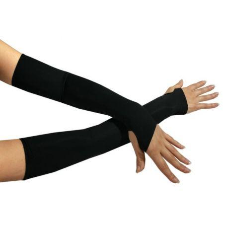Stretch armstulpen met duimsgat