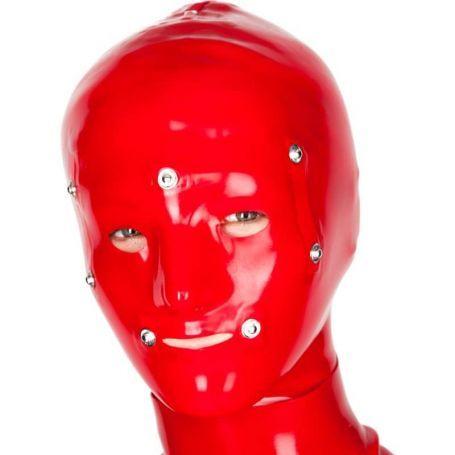 Latex bondage masker dames