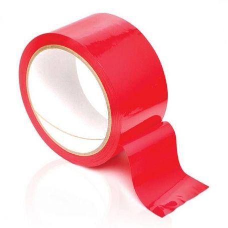 Bondage tape rood 18 meter
