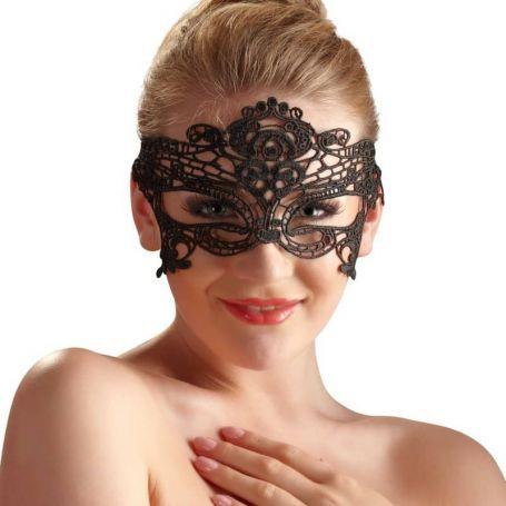 Geborduurd masker Valerie
