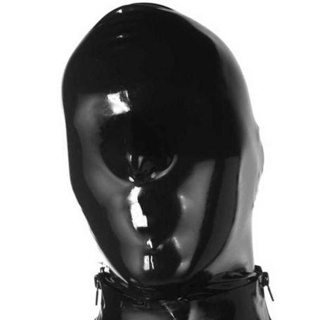 Latex masker gesloten