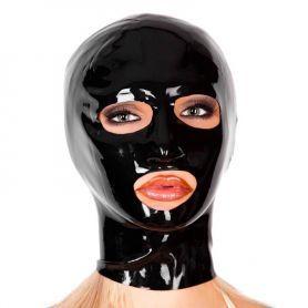 Latex masker met openingen