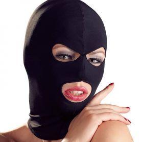 Elastisch masker met oog en mond openingen