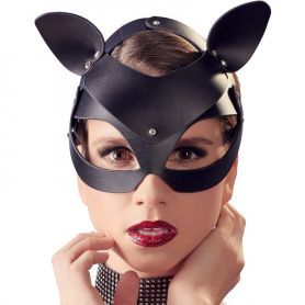 Kattenmasker zwart