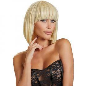 Pruik blond kort