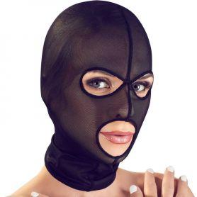 Elastisch net masker met openingen