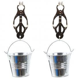 Clover clamps met emmertje