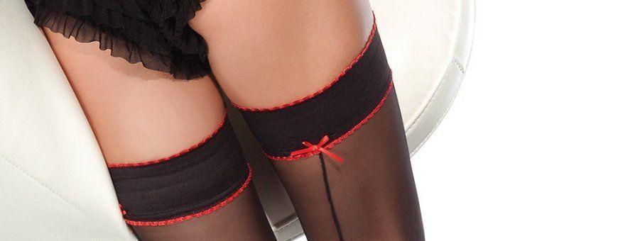 Maak je lingerie set compleet met mooie stayup of holdup kousen