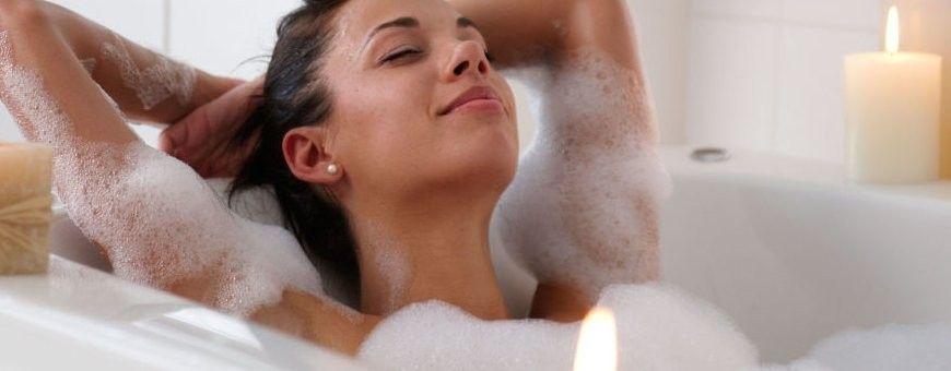 Bad en douche producten om eens lekker mee te ontspannen